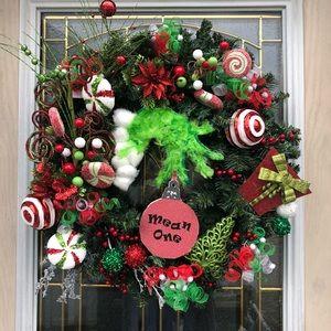 The Grinch christmas wreath